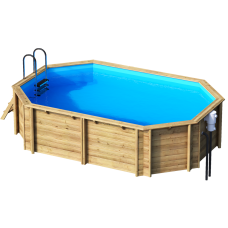 Деревянный бассейн Tropic Octo 540