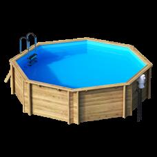 Деревянный бассейн Weva Octo 530