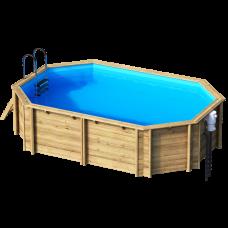 Деревянный бассейн Tropic Octo 510