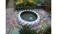 Бассейн из покрышки