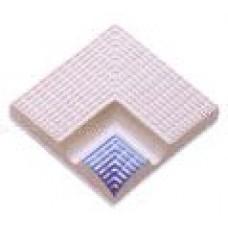 Внутренний угловой элемент поручней с сетчатой поверхностью
