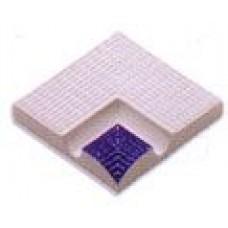 Внутренние угловые элементы поручней с сетчатой поверхностью (12,5х12,5см)