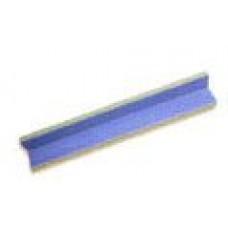 Плитка фарфоровая Serapool угловой элемент внутренний сгиб средний голубой (25х25х7,8 см)