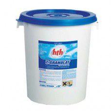 Быстрый стабилизированный хлор в гранулах, 25 кг, hth.