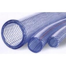 Шланг из голубого полиэтилена, с соединительной арматурой 12м