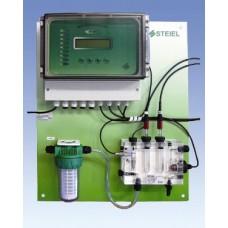 """Контроллер рН, свободного хлора, редокс-потенциала, температуры """"PNL EF214 pH/Rx/T/CL"""