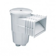 Скиммер для бетонного бассейна (квадратная крышка)