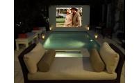 Бассейн с домашним кинотеатром