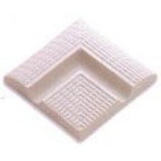 Наружный угловой элемент поручней с сетчатой поверхностью