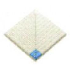 Внутренний угловой элемент противоскользящей плитки с буртиком с сетчатой поверхностью