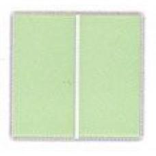Плитка фарфоровая Serapool глазурованная желто-зеленая (12,5x25 см)