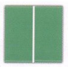 Плитка фарфоровая Serapool глазурованная зеленая (12,5x25 см)